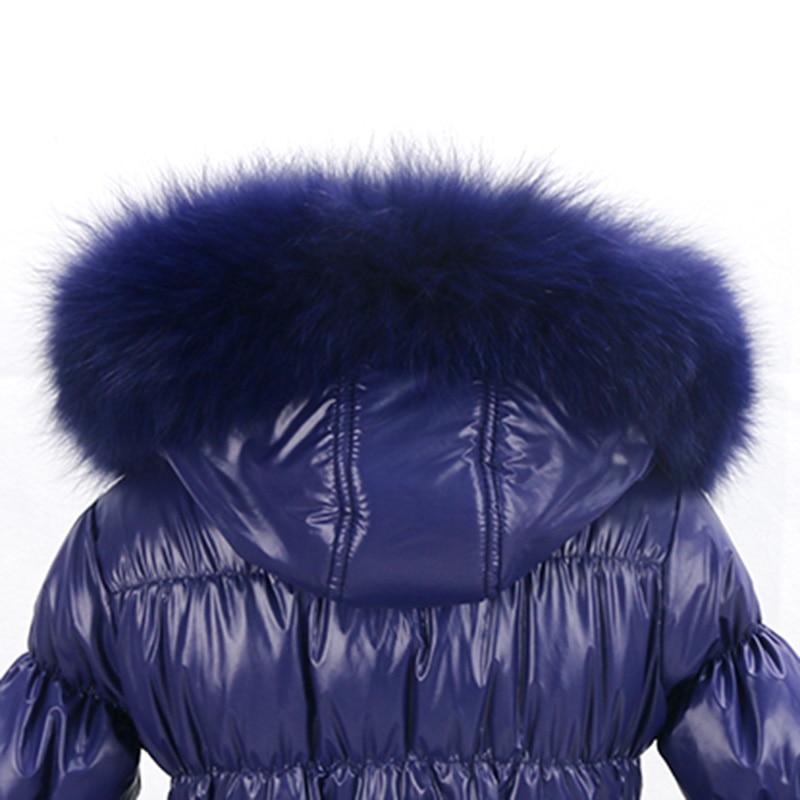 Brezplačna dostava novi slog zimski otroški plašč / priljubljena - Ženska oblačila - Fotografija 5