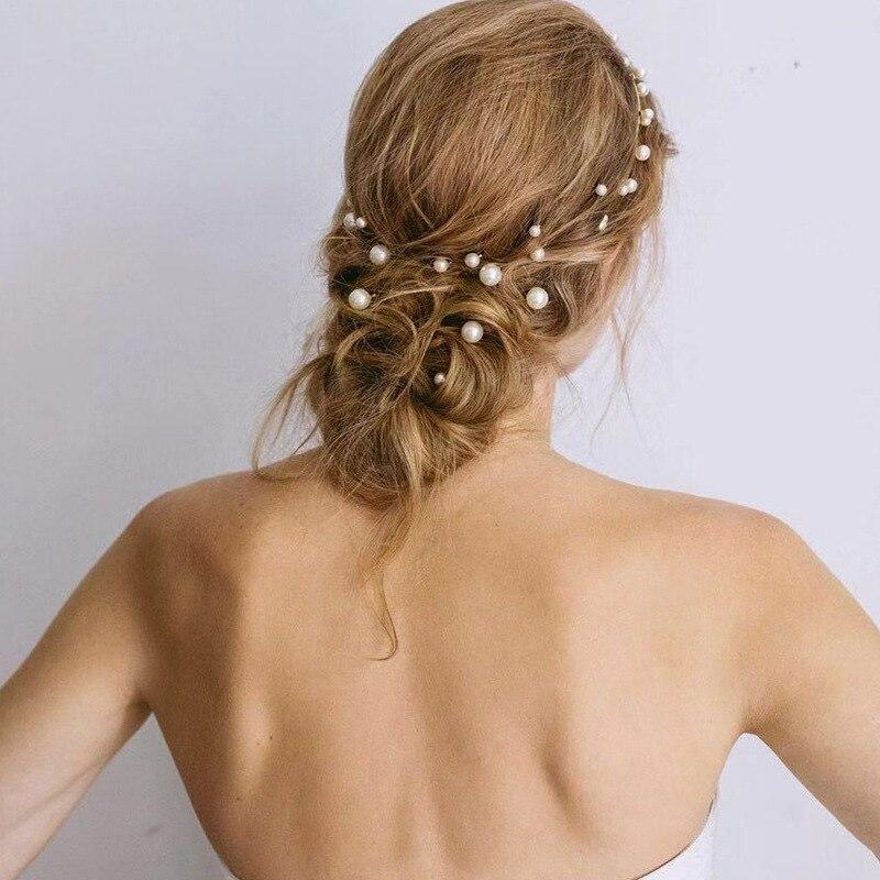 7 шт. / Компл. Винтаж Жемчуг Заколки для волос заколки для женщин Аксессуары для волос для девочек