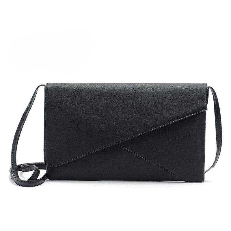 New Fashion Crossbody Messenger Bag Famous Brand Women Female Leather EnvelopeTote Shoulder Bag Vintage Clutch