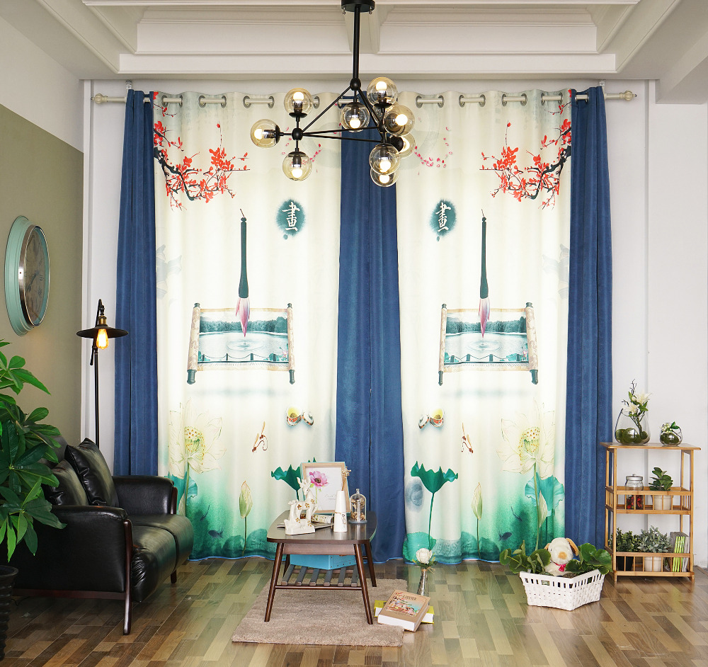Patterned Curtains For Living Room Compare Prices On Chinese Pattern Curtains Online Shopping Buy