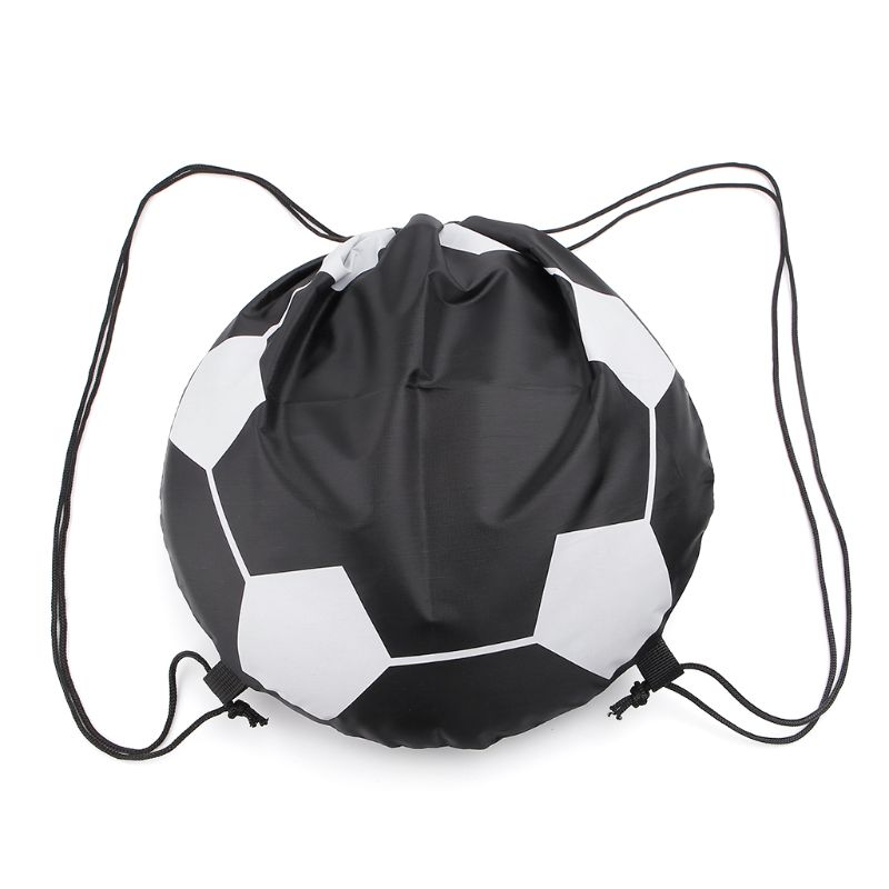 Outdoor Sport Carry Net Drawstring Bag Nylon Football Volleyball Basketball Bags