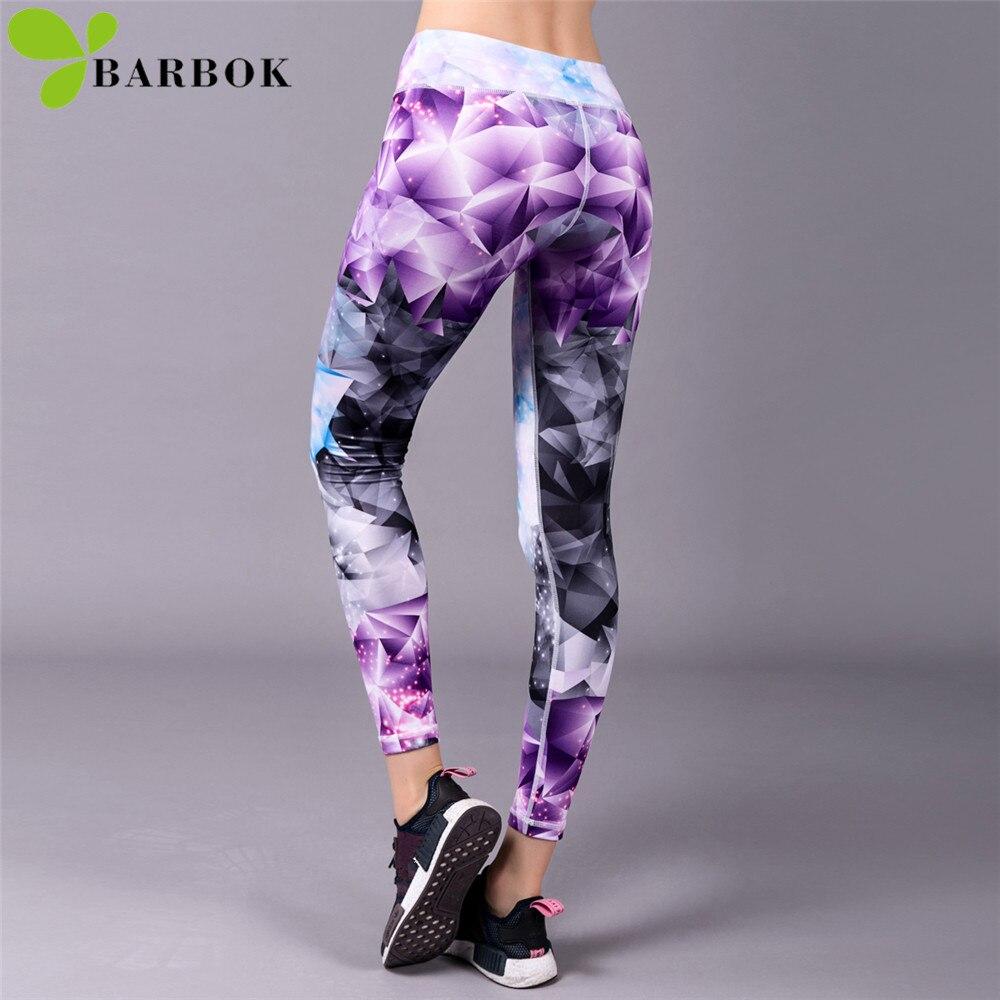 цена на BARBOK Sports Leggings Yoga Pants Leggins Women Fitness Sportswear Gym Leggings Lady Seamless Running Exercise Workout Clothing
