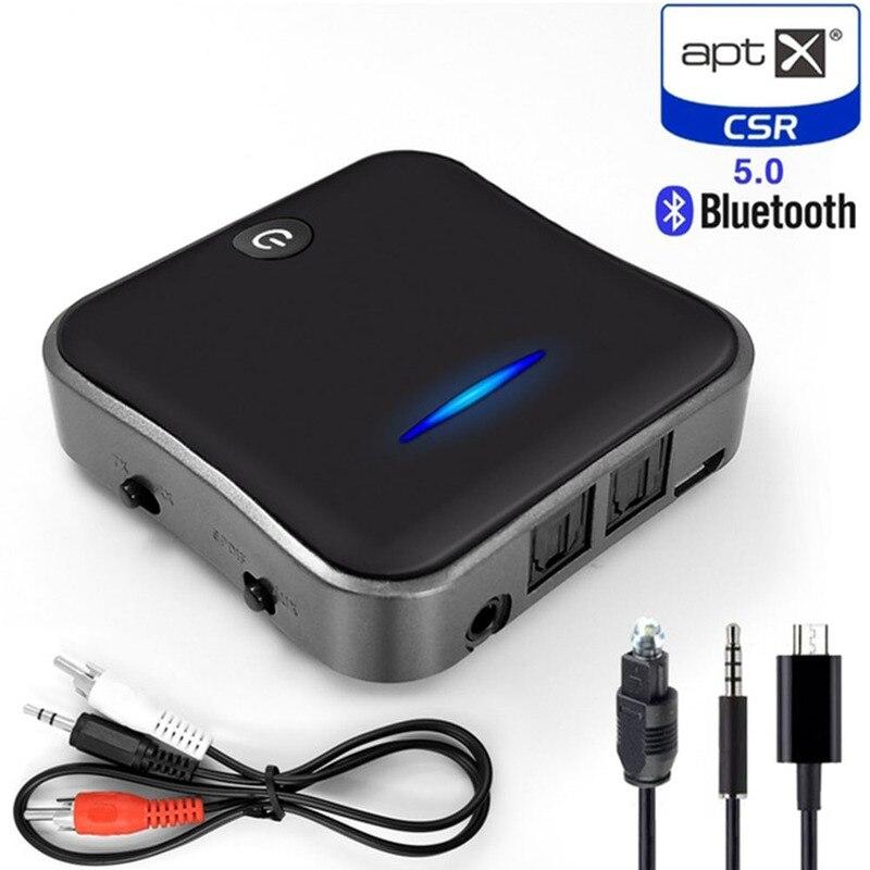 Bluetooth 5,0 аудио передатчик приемник CSR8675 Aptx HD адаптер оптический Toslink/3,5 мм AUX/SPDIF для автомобиля тв наушники и т. Д.|Беспроводные адаптеры|   | АлиЭкспресс