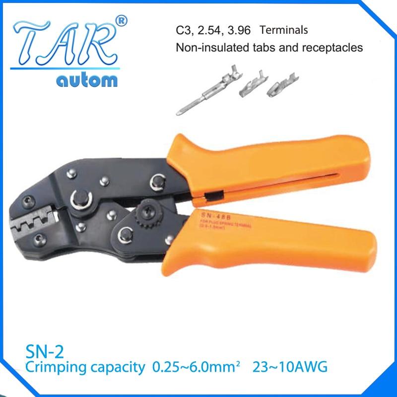 SN-2 crimping tool crimping plier 0.5-4.0mm2 multi tool tools hands pliers MINI EUROP STYLE crimping tool crimping plier