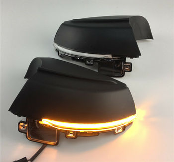 Dynamic LED For MK5 6R 6C 2009-2013 2014 2015 2016 2017 Turn Signal Light Side Wing Mirror Indicator Blinker