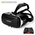 Original Shinecon VR Box 2,0 Google Cardboard Virtual Reality Smartphone gafas vr gafas auriculares con Bluetooth Gamepad