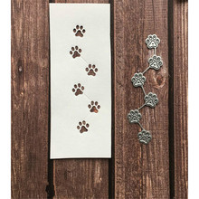 Dog Footprints Metal Cutting Dies Scrapbooking for Card Making DIY Embossing Cuts New Craft 2019 Arrival
