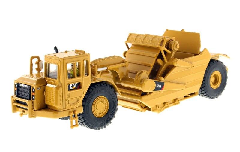 Véhicules de Construction modèle jouets 1:50 chat 623G grattoir de levage d'ingénierie 26.4*7.5*9 CM