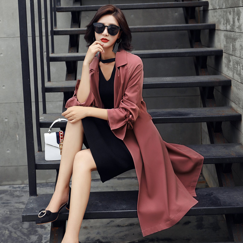 Autumn solid color fashion temperament elegant charming jacke