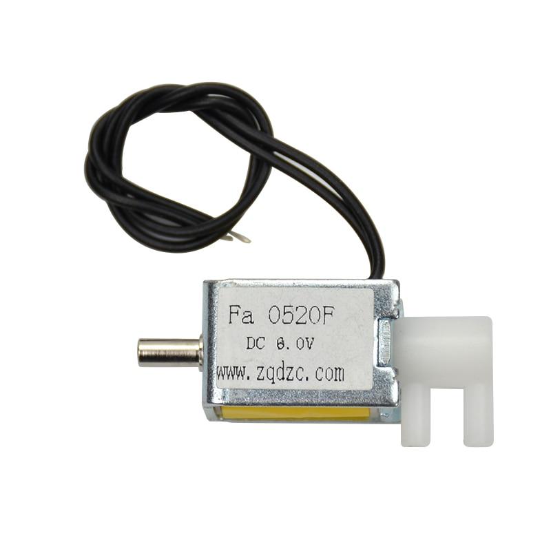 мини-газовый электромагнитный клапан