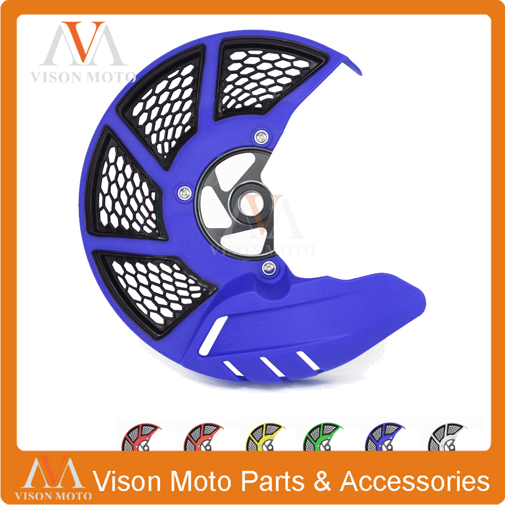 Front Brake Disc Rotor Guard Cover Protector For HUSQVARNA TC FC 2015 2016 2017 TE FE TX FX 125 150 200 250 300 350 400 450 501
