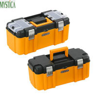 Large Size Portable Tool Box Double Tools Storage Box Component Daily Necessities Woodworker Electrician Suitcase Organize Boxes