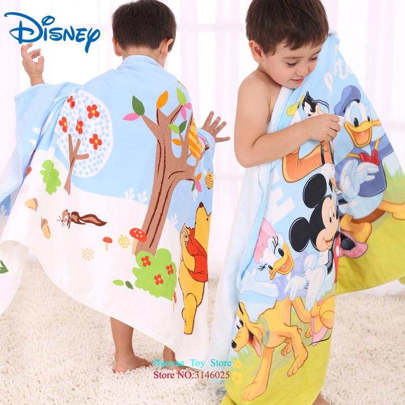Power Source Disney Bathtowel 100%pure Cotton Children Towel Adult Girl Bathtowels Cute Sexy Can Wear Minnie Mickey Partner Beach Garden