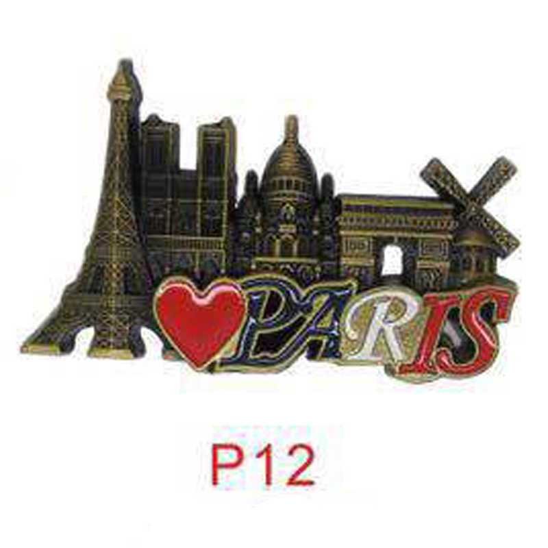 3D Parijs Toren Magneet Franse Beroemde Gebouw Model Koelkast Magneten Souvenir Keuken Magneet Sticker Home Decorations