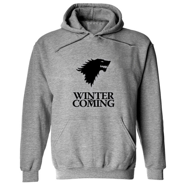 Stark Winter is Coming Hoodies