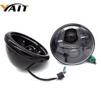 5.75 Inch headlights Housing bucket with 5 3/4 headlight Daymaker for Harley Davidson motorcycle