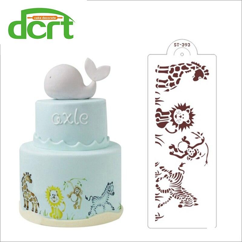Fondant dort zdobení zvířat dort vzorník, řemesla dort design dort šablony vzor, šablony decoracion vzorník pro malování  t