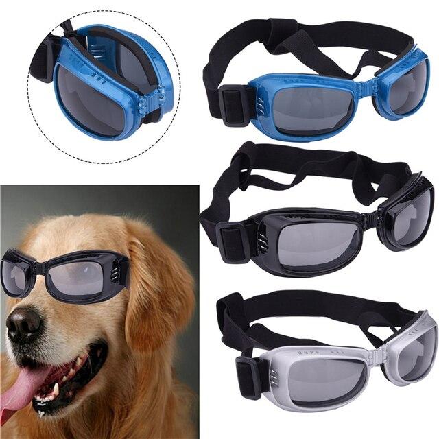 beca772e051f1 Mode Lunettes De Soleil Pour Chien Doggles Lunettes UV Protection Des Yeux  Lunettes Pet Cool Élégant