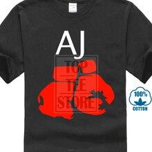 27518404 2018 New Fashion T Shirt Men Cotton Mens New Boxer Aj Anthony Joshua Gloves  Print Short · 6 Colors Available
