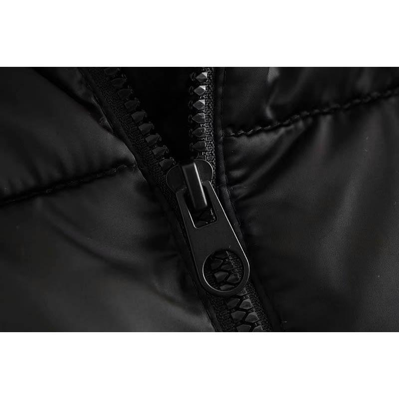 Nouveau Noir Veste Kangourou Longues Vêtements Casual Manteau À AOpH8