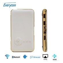 5000 mah bateria everycom s6 plus wifi portátil de bolso mini projetor dlp projetor de smartphones android ac3 bluetooth(China (Mainland))
