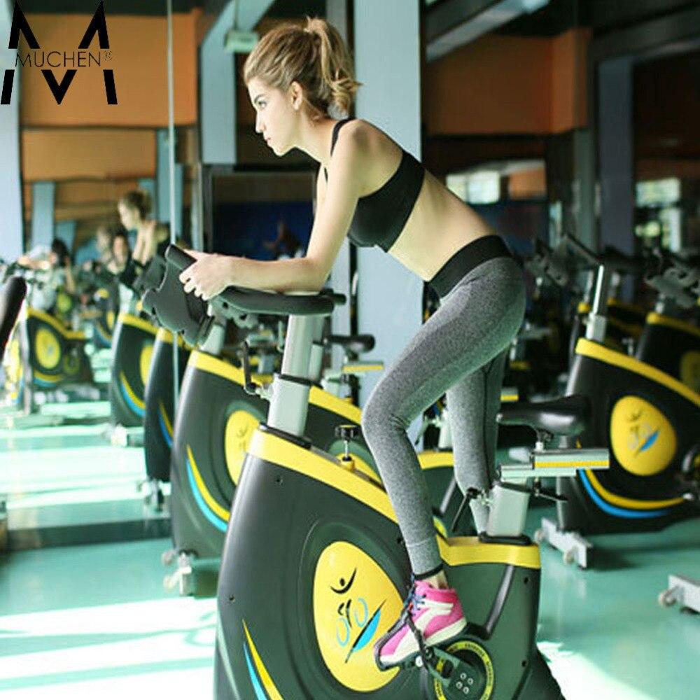 35a99db4b65 Muchen 2015 Hot femmes Sport Leggings pour course à pied entraînement Bodybuilding  Fitness vêtements vêtements Gym pantalons élastique JeggingT18 366 dans ...