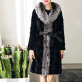 Fake Fur Women Overcoat 2016 Women Hoody Thick Warm Coat Femme Fur Drawstring Long Coat Veste Fourrure Femme Plus size XXXL