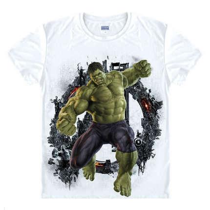 a72246188cc Avengers T Shirt Ironman Captain America Iron men Hawkeye Black Widow  Marvel T-shirt Super