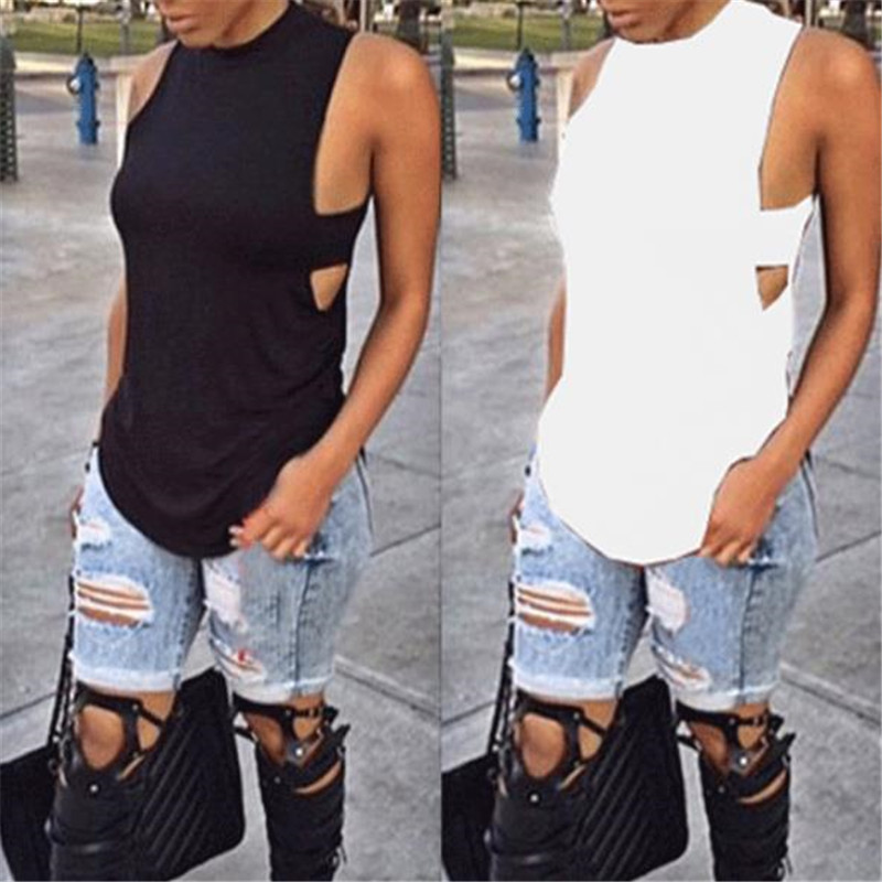 Fashion Women T-Shirt Summer Loose Vest Top Sleeveless Casual T-shirt 2020 Newest Hot Sale camisetas verano mujer Lady