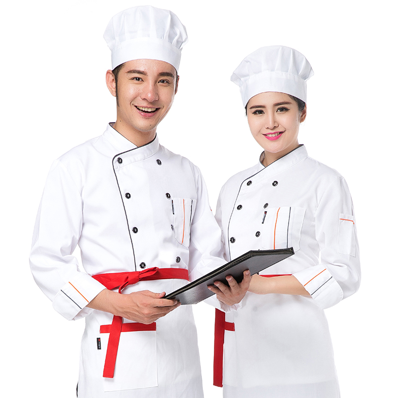 Restaurant Kitchen Uniforms popular women chef clothing-buy cheap women chef clothing lots