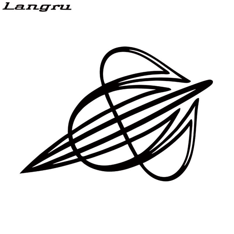 Langru Pinstripe Hot Rod Truck Caravan 4x4 Sticker Hood Decals Rear Window Car Sticker Vinyl Decal Jdm