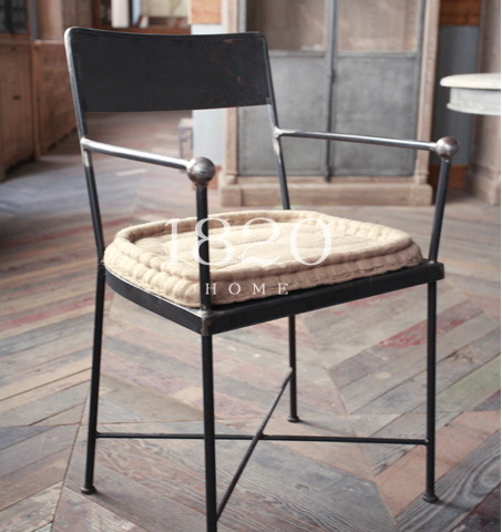 Exported To Europe And The Nordic Style Loft Fake Retro Style Mash /  Industrial Style Metal Chairs Do The Old Wrought Iron Chair In Shampoo  Chairs From ...