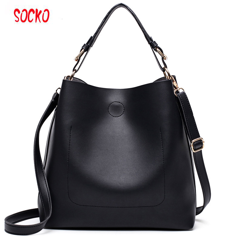 Women Shoulder Bag Female Casual Large Tote Bags High Quality Pu Leather Ladies Hobo Handbag Large Capacity Tote H46ZS designer vintage female knitting handle handbag quality pu leather casual tote bag durable portable daypack shoulder bag