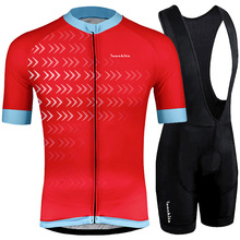 Ropa ciclismo hombre Cycling Jersey 4D GEL Pad 2019 RUNCHITA Pro Team Short Sleeve SET Maillot Ciclismo kit