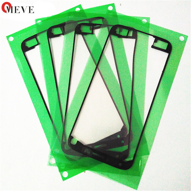 10PCS S6 LCD Display Frame Front Housing Adhesive Glue Tape Sticker Replacement For Galaxy S7 EDGE S5 S4 S3  A7 A5 A3 Note 2 3 4