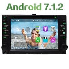 3G 4G WIFI Android 7.1.2 2GB RAM DAB+ Car DVD Multimedia Player Radio For Kia Carnival Picanto Morning Pride Rio Naza Suria VQ