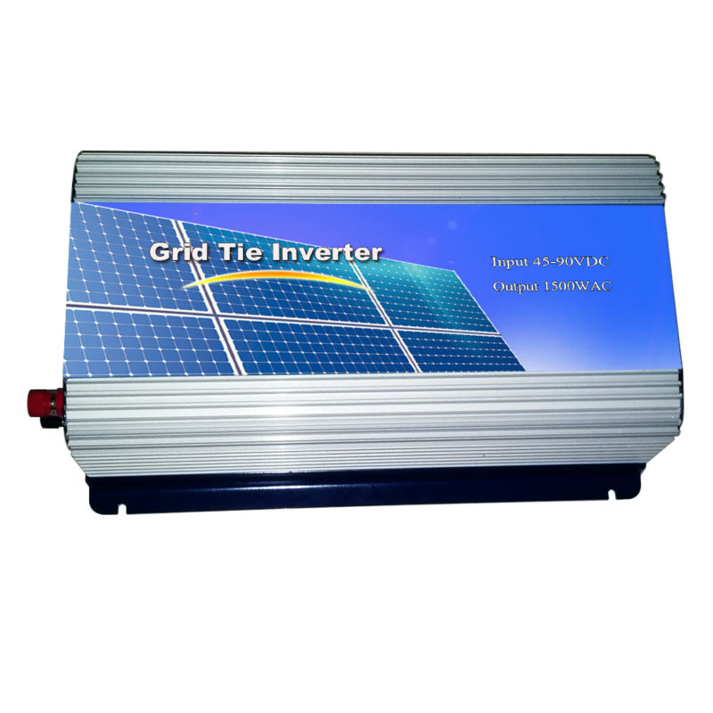 MAYLAR@ 45-90VDC ,1500W  Solar Grid Tie Inverter Connect Solar Panel ,Hight Efficiency,180-260VAC, 50Hz/60Hz maylar 22 60vdc 300w dc to ac solar grid tie power inverter output 90 260vac 50hz 60hz