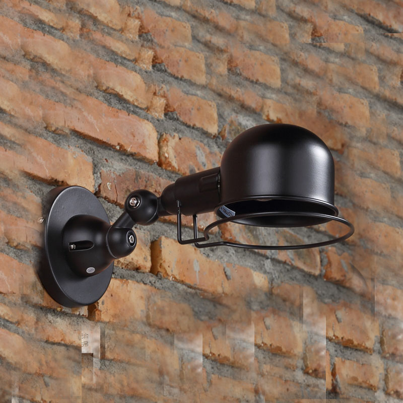 Black Vintage Wall Lamps Bedroom sconce Wall Mounted Bedside Reading ...