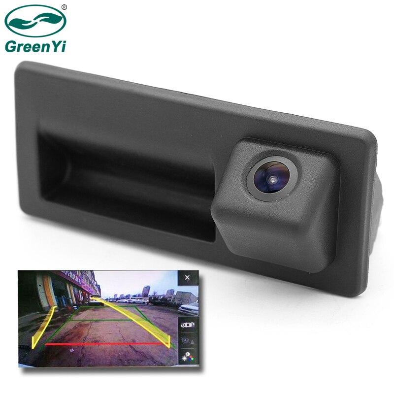 GreenYi RCD330 Car Trunk Handle Rear view Camera For VW Passat Polo Golf Tiguan Jetta MIB