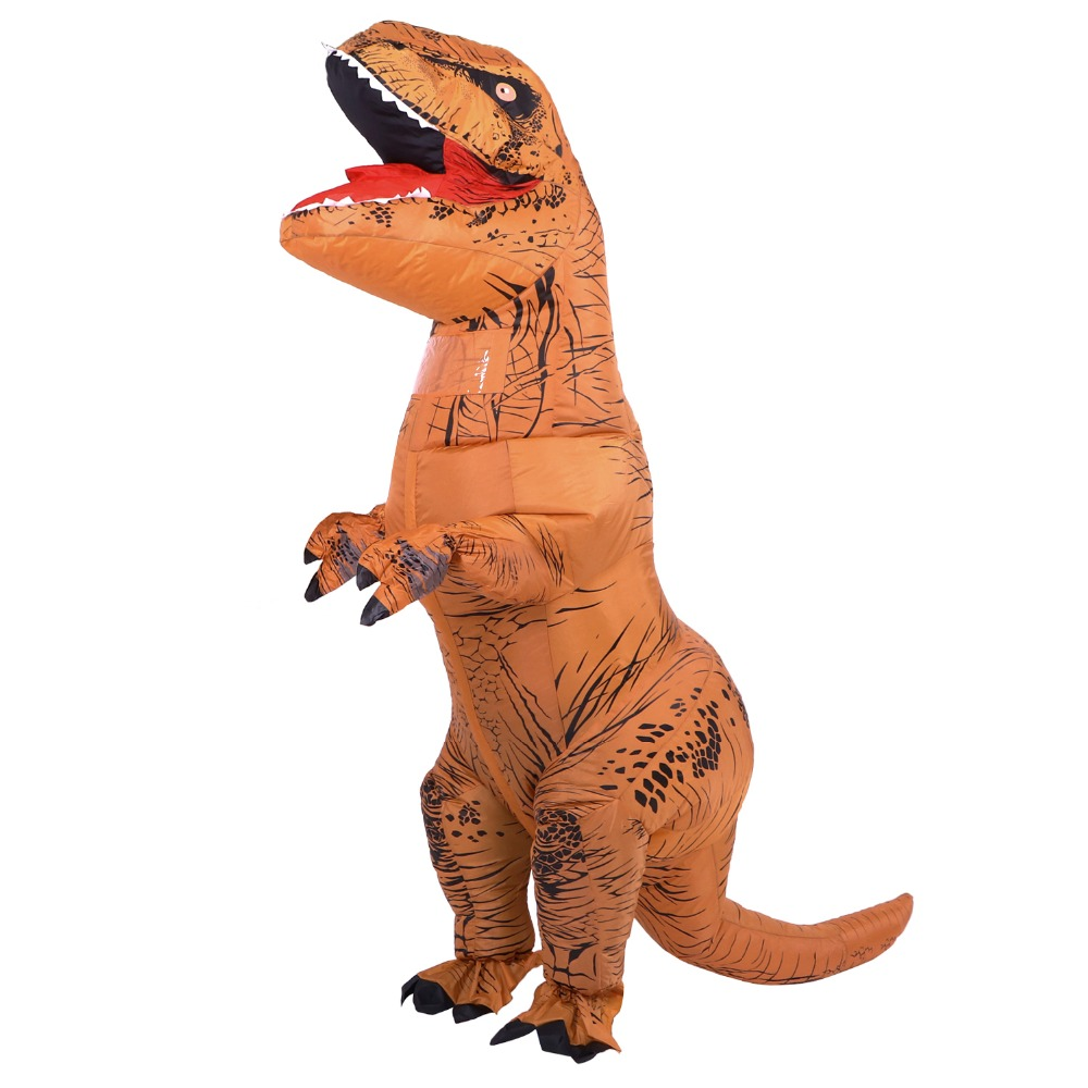 INFLATABLE Dinosaur Costumes for adult T-Rex Dinosaur Halloween Inflatable costume mascot Party costume for adult  T-Rex