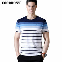 COODRONY Short Sleeve T Shirt Men 2018 Spring Summer New Arrival Mne S Casual O Neck