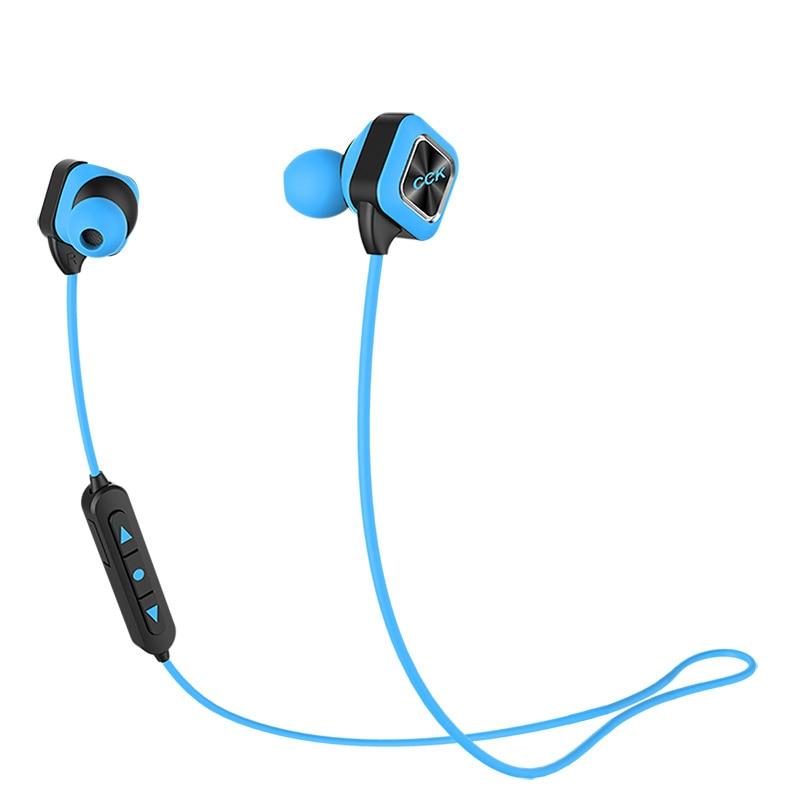 CCK KS Plus Fashion Wireless Sport Stereo Headset Bluetooth 4 1 Earphones In ear Bass Earbuds