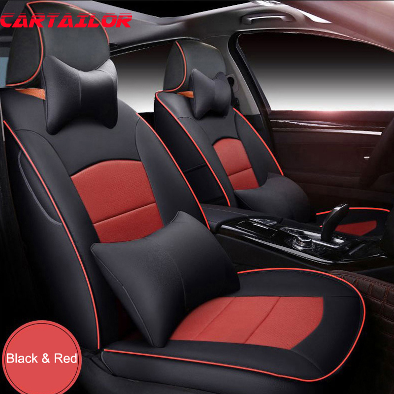CARTAILOR Cover Seat Protector for Hyundai Matrix Car Seat Covers Leather Seats Cover Accessories Front & Rear Cushion Supports