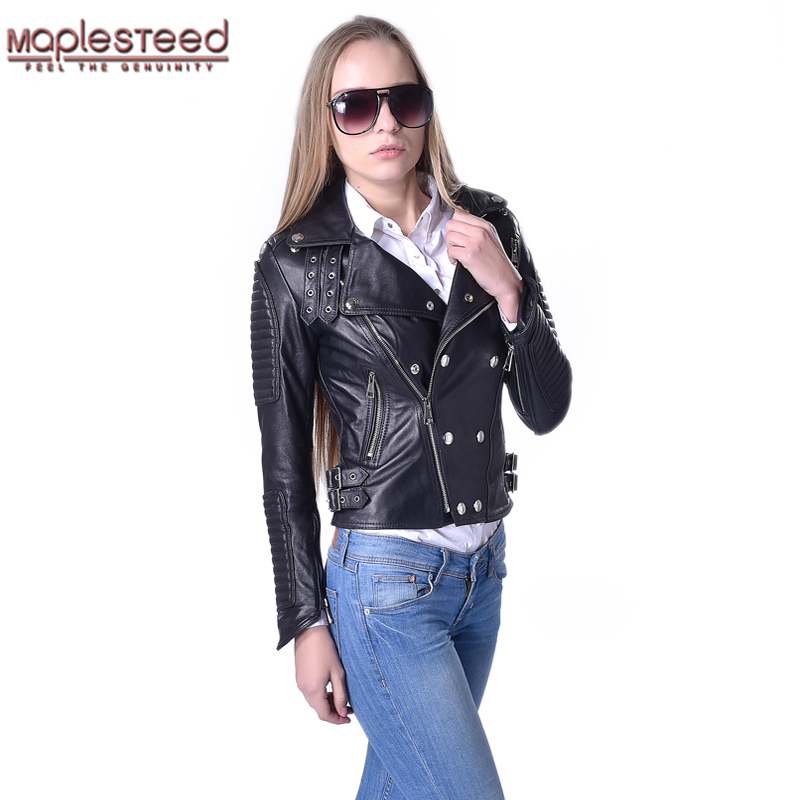 3b57f588a4a Detail Feedback Questions about Factory Genuine Leather Jacket Women ...