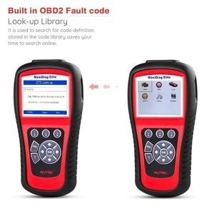 Image 2 - AUTEL MaxiDiag Elite MD802 All system DS model Car OBD2 Scanner Full System Diagnoses ABS SRS Engine Transmission EPB Oil Reset