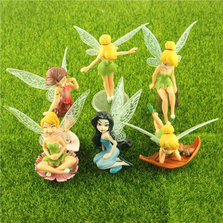 Popular flower fairies figurines buy cheap flower fairies for Fairy garden figurines