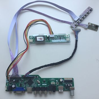 LCD LED AUDIO TV HDMI USB VGA AV 2 CCFL lamps Controller driver Board For TX39D30VC1GAA 1280*800 display card 7inch hsd070pww1 dedicated special driver board 1280 800 reversal priority