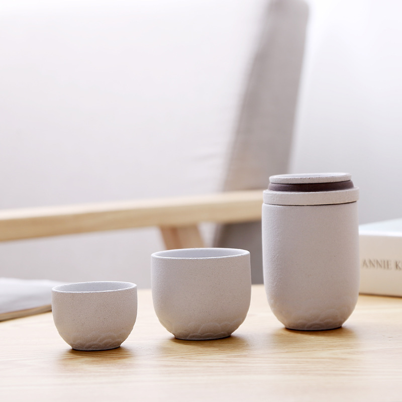 Gong Fu Tea Ceremony Travel Teacups 1
