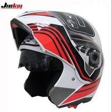 Новый JIEKAI JK105 undrape Мотоциклетный Шлем Мотокросс Moto Racing рыцарь Мотоцикл шлемы, изготовленные из ABS 2 видов Цветов