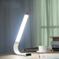 2018 New Arrival LED Desk Lamp 360 degrees Flexible Night Light DC Rechargeable 2000mA Eye Protection Lamp filling light lamp